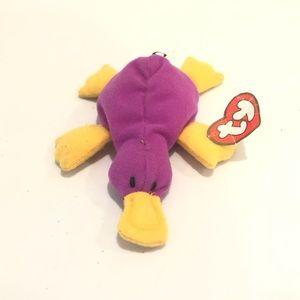Ty Teenie Beanie Baby Patty The Platypus